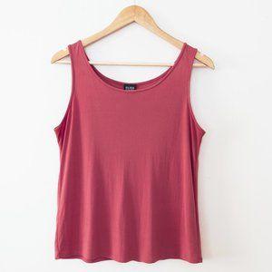 Eileen Fisher 100% Silk Pink Tank Top